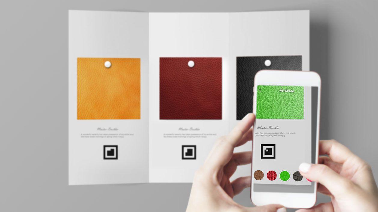 Mobile App Development - Haptex - Augmented Reality App