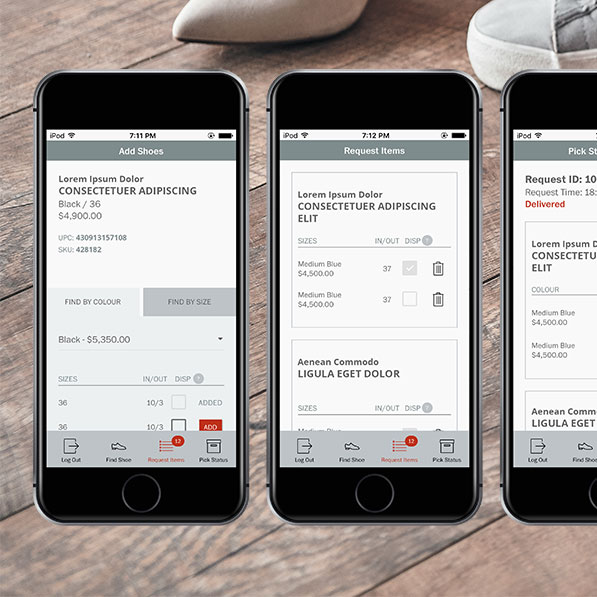 Mobile App Development - Shoe Salon - Inventory Management App - Gallery 02