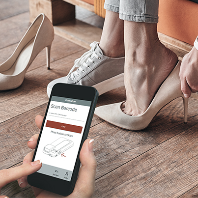 Mobile App Development - Shoe Salon - Inventory Management App - Tile