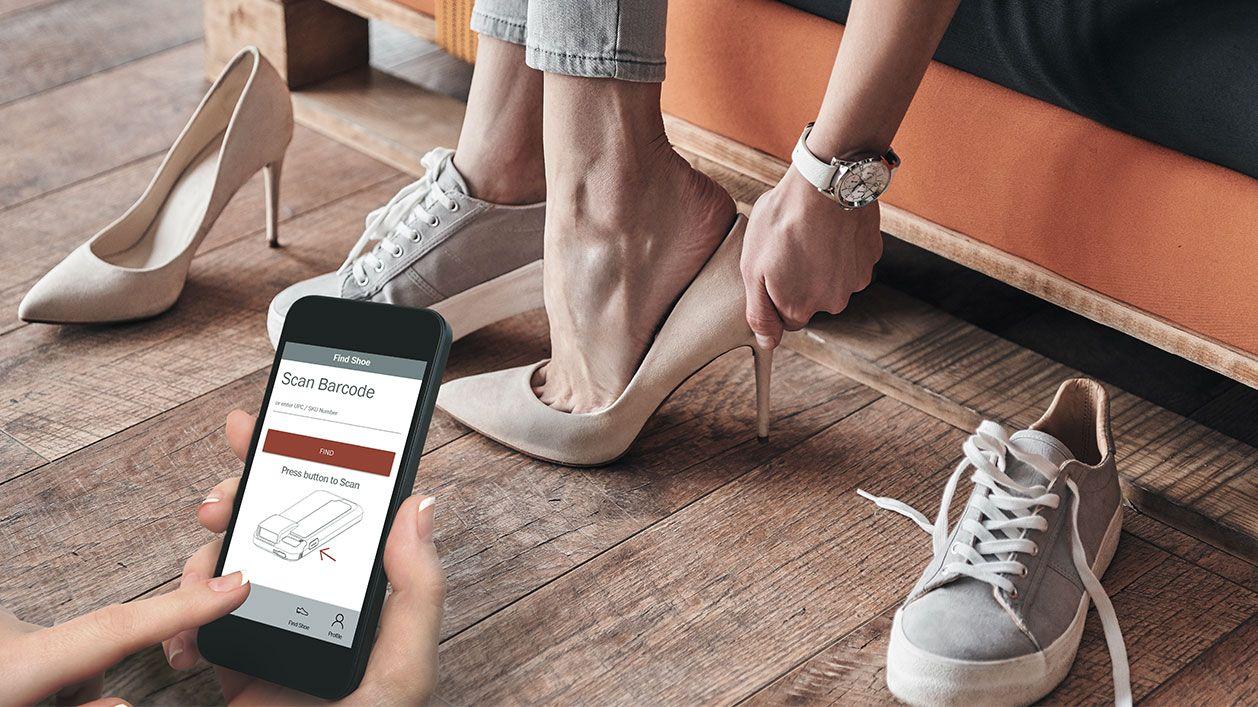 Mobile App Development - Shoe Salon - Inventory Management App