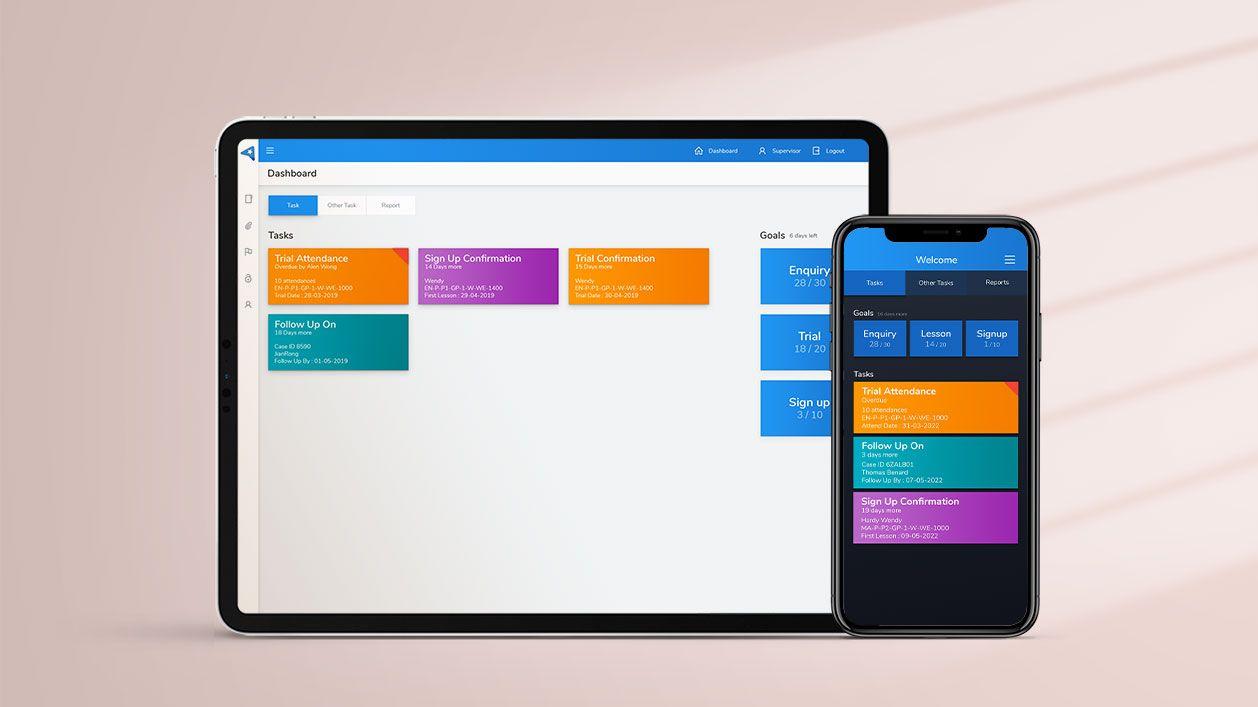 Mobile App - Sales System - App - Banner
