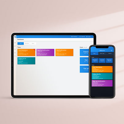 Mobile App - Sales System - App - Tile